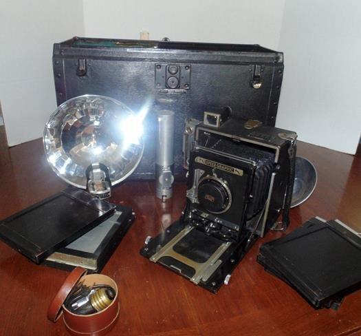 Graflex Camera Set
