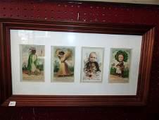Framed Trade Cards