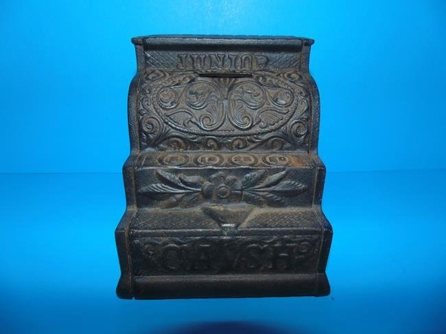 Junior Cash Register Cast Iron Still Bank
