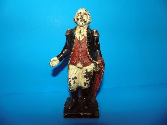George Washington Cast Iron Still Bank