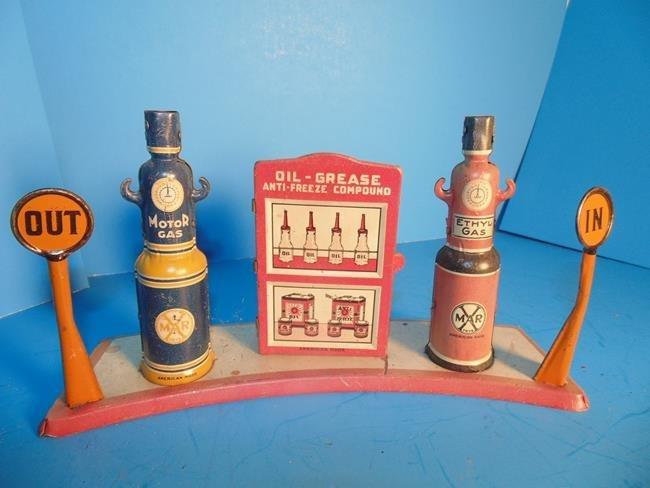 Marx Tin Litho Gas Pumps