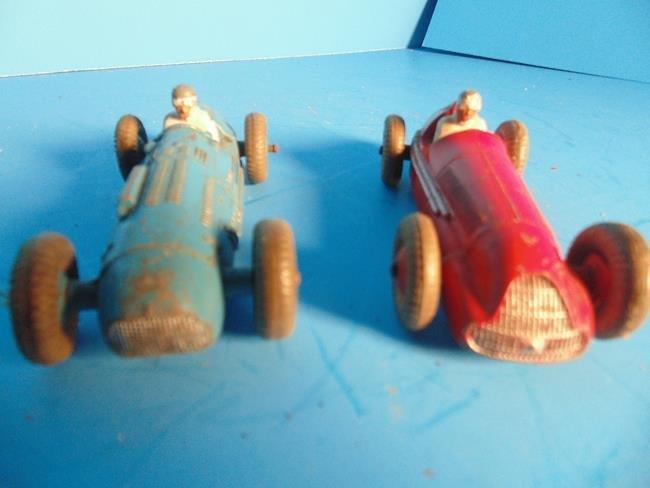 2 Dinky Race Cars - 2