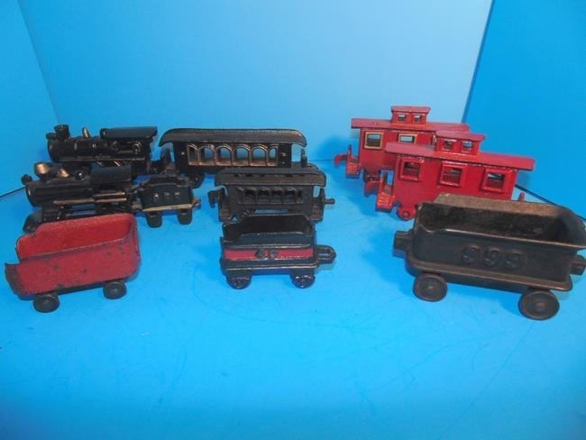 Cast Iron Trains