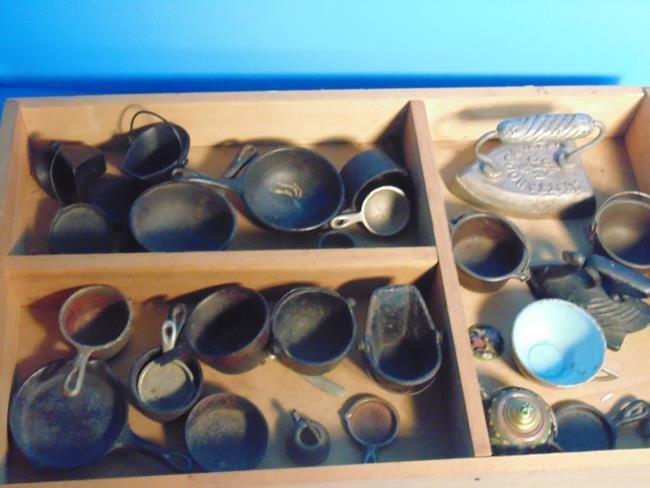 Cast Iron Toy Pots & Pans
