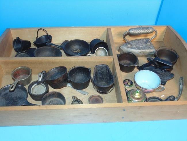 Cast Iron Toy Pots & Pans - 2