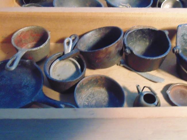 Cast Iron Toy Pots & Pans - 4