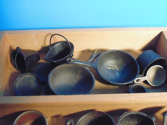 Cast Iron Toy Pots & Pans - 5