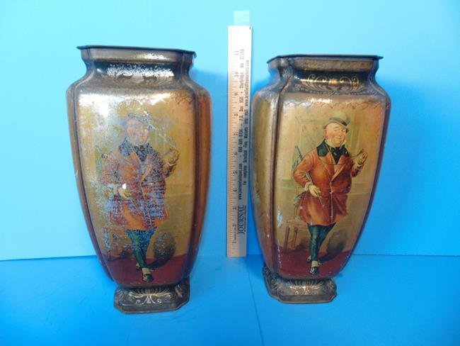 Old Curiosity Shop Pedestal Tins - 3