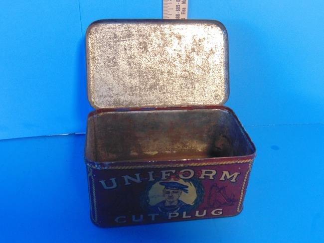 Uniform Cut Plug Tobacco Tin - 3