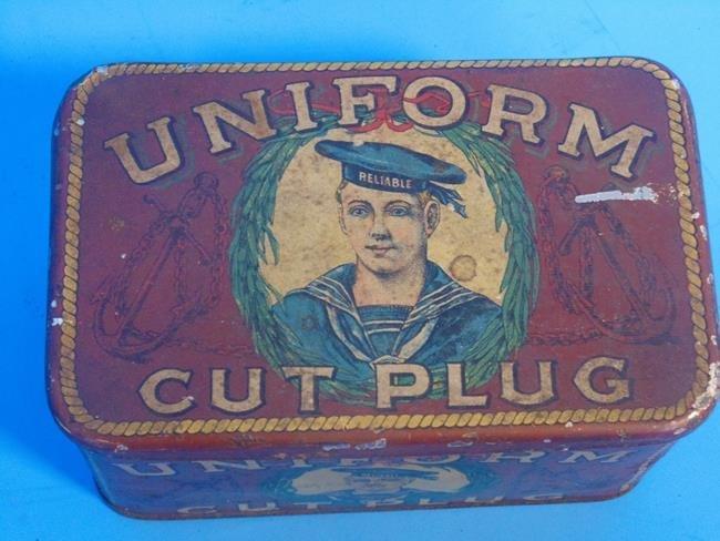 Uniform Cut Plug Tobacco Tin - 4