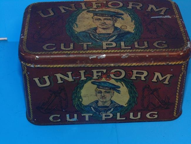 Uniform Cut Plug Tobacco Tin - 5