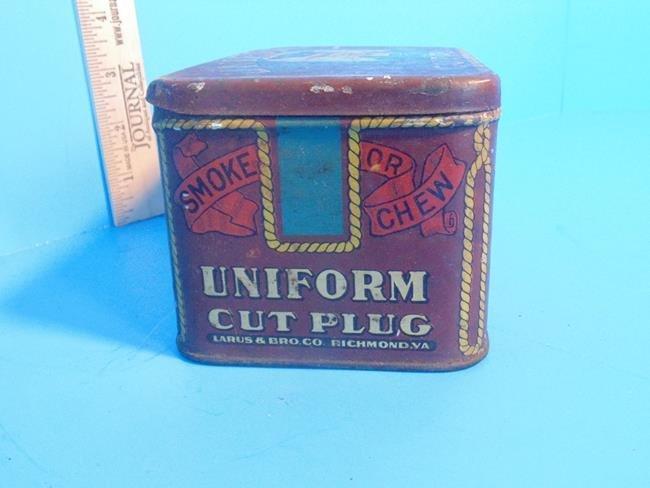 Uniform Cut Plug Tobacco Tin - 8