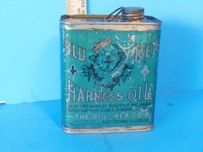 Blu Rex Harness Oil Can