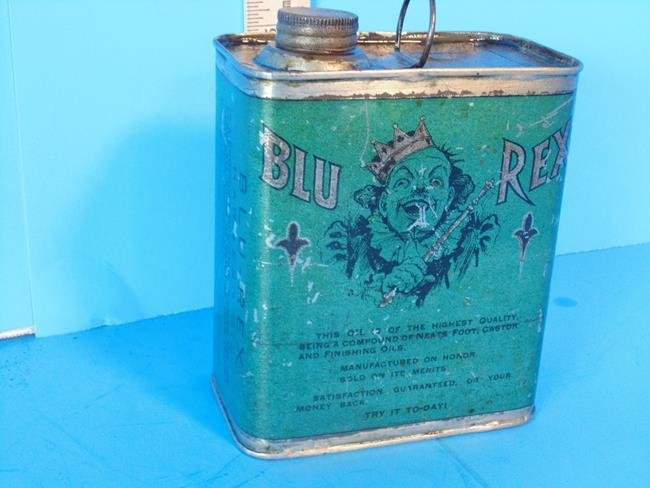 Blu Rex Harness Oil Can - 3