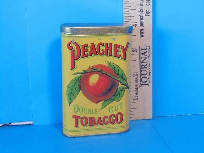 Peachey Double Cut Tobacco Tin