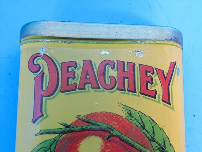 Peachey Double Cut Tobacco Tin - 2