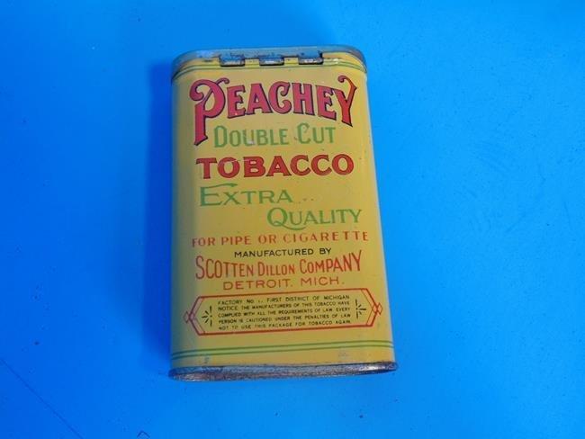 Peachey Double Cut Tobacco Tin - 3