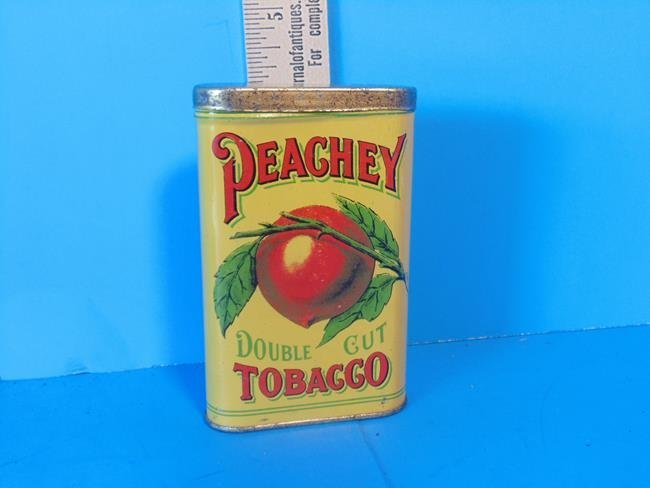 Peachey Double Cut Tobacco Tin