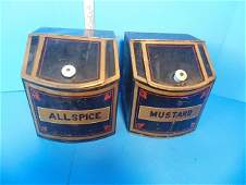 Country Store Spice Tins