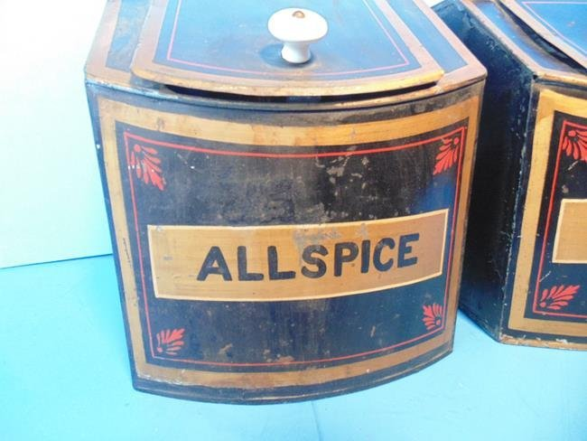 Country Store Spice Tins - 2