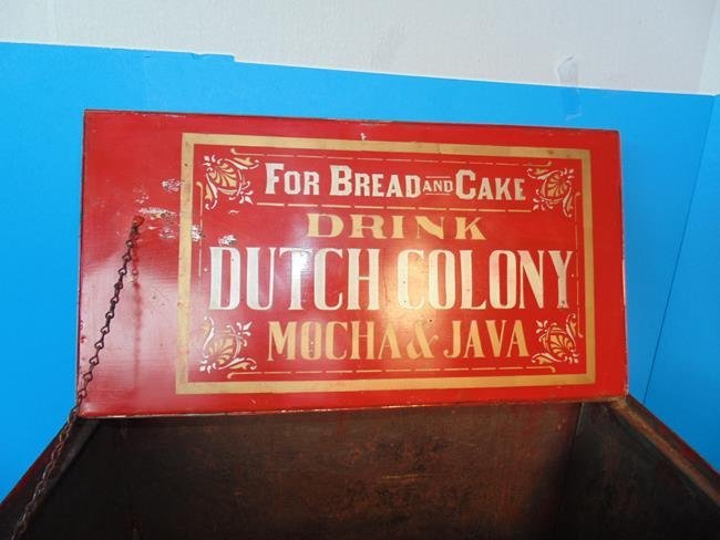 Dutch Colony Coffee Country Store Display Bin - 2
