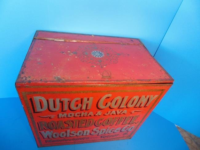 Dutch Colony Coffee Country Store Display Bin - 4