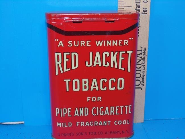 Red Jacket Tobacco Tin - 2