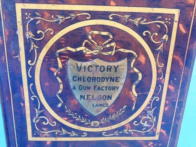 Victory Gum Tin Litho Desk Store Tin - 4