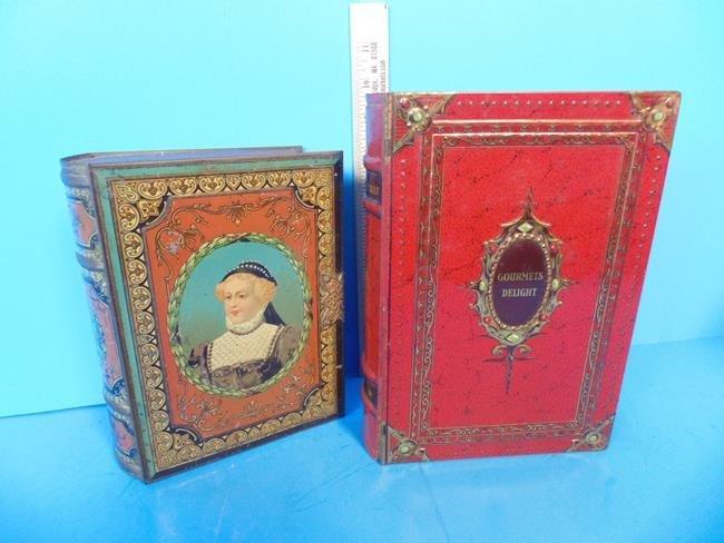 Book Shape Candy Tins - 5