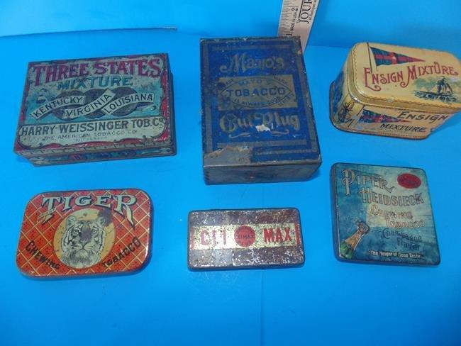 Tobacco Pocket Size Tins