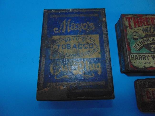Tobacco Pocket Size Tins - 4
