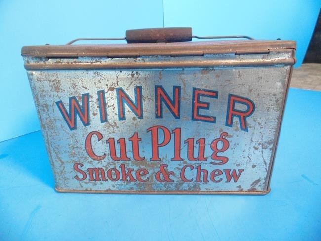 Winner Cut Plug  & Mayo's Tobacco Tins - 2