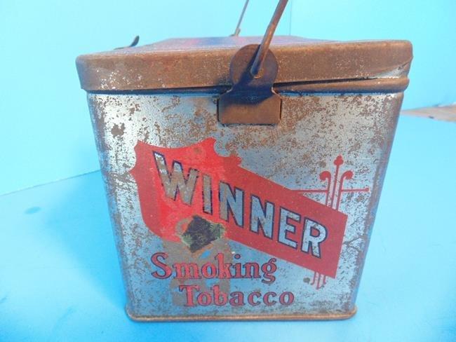 Winner Cut Plug  & Mayo's Tobacco Tins - 3