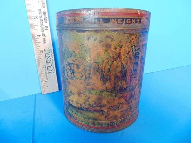 Sheridan Cavalry Condition Powder Tin Can - 3