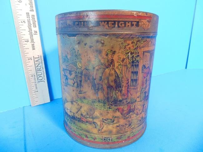 Sheridan Cavalry Condition Powder Tin Can - 5
