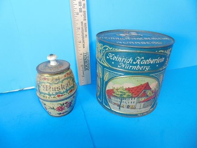 German Tins
