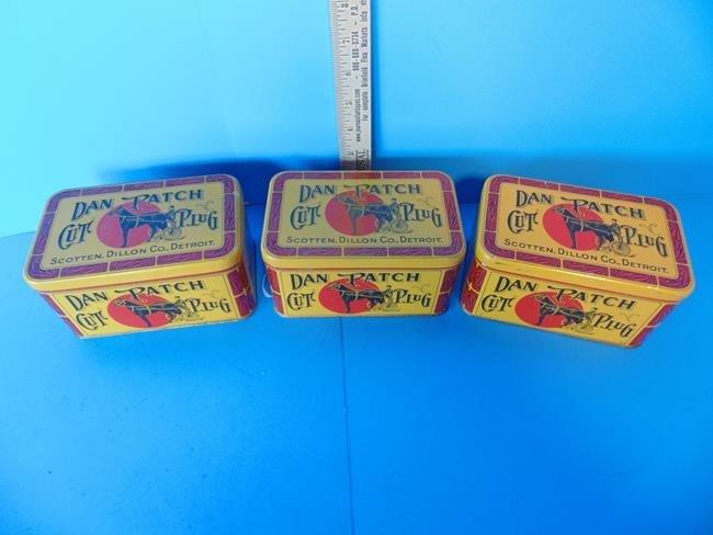 Dan Patch Tobacco Tins - 2