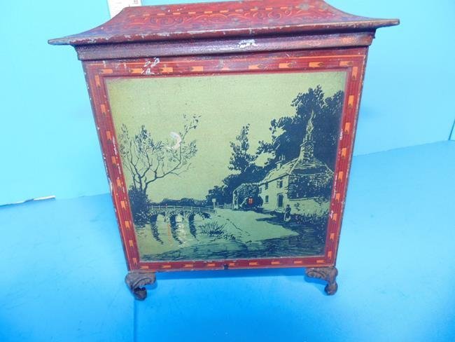 Huntley & Palmer Biscuit Tin Triangle Moonlight - 3
