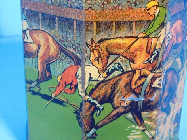Grand National Tea Horse Race Tin - 3