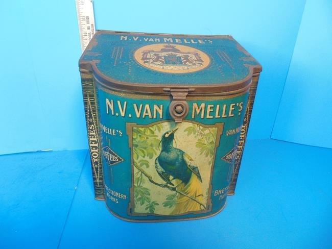 Van Melle's Toffee Tin
