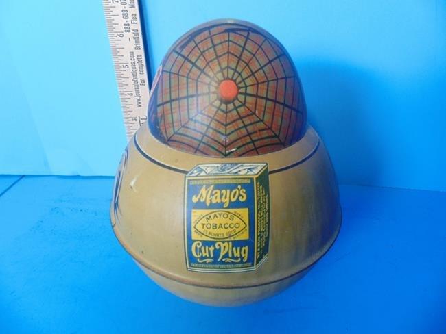 Scotland Yard Mayo's Tobacco Roly Poly Tin - 2