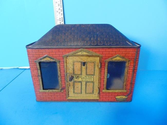 Little House Tea Tin