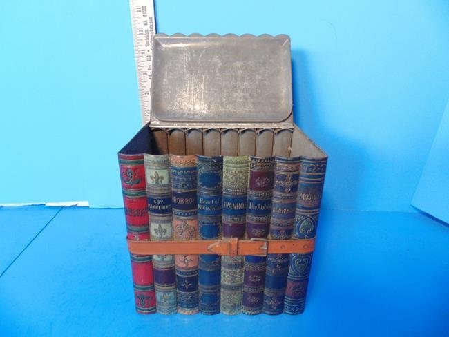 Huntley & Palmer Biscuit Tin Stack of Books - 2