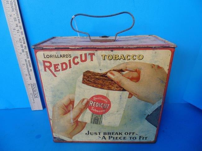 Lorillard's Redicut Tobacco Tin