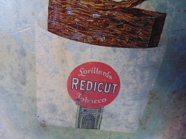 Lorillard's Redicut Tobacco Tin - 3
