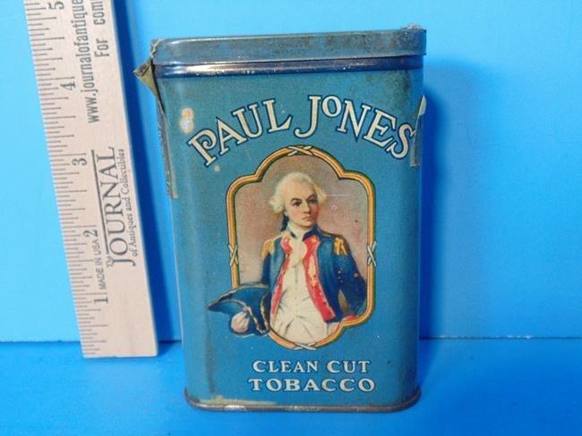 Paul Jones Tobacco Tin