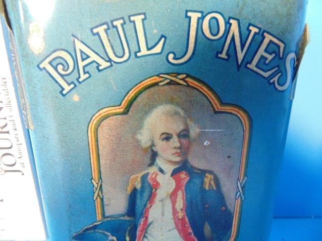 Paul Jones Tobacco Tin - 2