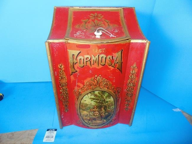 Formosa Tea Country Store Display Bin