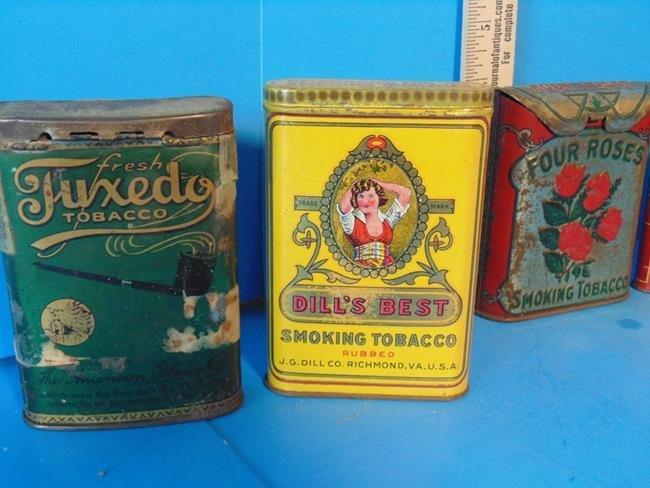 Tobacco Tins - 2