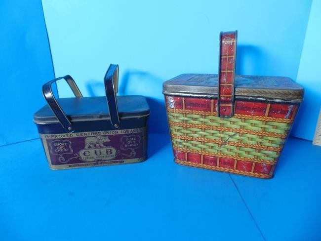 Central Union Tobacco Tin & Biscuit Tin